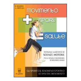 MOVIMENTO SPORT SALUTE   LIBRO MISTO VOLUME (1/2) + QUADERNO Vol. U