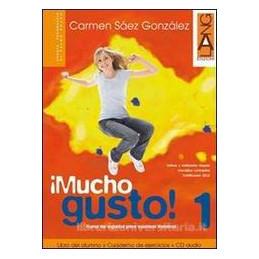 °MUCHO GUSTO! 3 LIBRO DEL ALUMNO Y CUADERNO DE EJERCICIOS + CD AUDIO Vol. 3