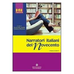 NARRATORI ITALIANI DEL NOVECENTO  Vol. U