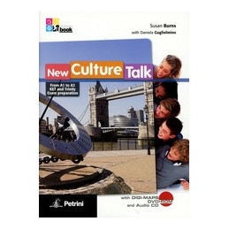 NEW CULTURE TALK DAL LIVELLO A1 A A2   VOLUME + DVD ROM DIGIMAPS + CD AUDIO Vol. U