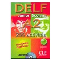 NOUVEAU DELF JUNIOR SCOLAIRE A2+COR+TR+CD  Vol. U