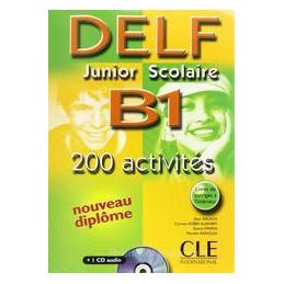 NOUVEAU DELF JUNIOR ET SCOLAIRE B1 + CD