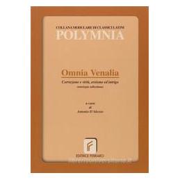 OMNIA VENALIA (D`ALESSIO)