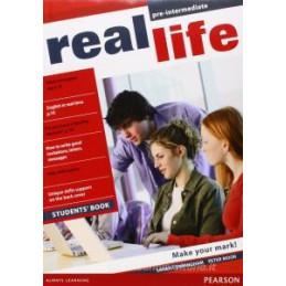 REAL LIFE PRE INTERMEDIATE STUDENTS` BOOK  VOL. U
