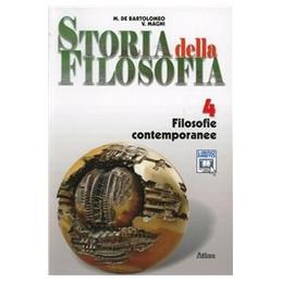 STORIA DELLA FILOSOFIA VOLUME4 FILOSOFIE CONTEMPORANEE