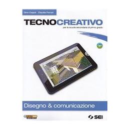 TECNOCREATIVO PACK COMPLETO DISEGNO & COMUNICAZIONE + DVD + SCHEDE DISEGNO + TECNOLOGIA VOL. U