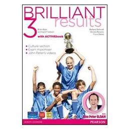 BRILLIANT RESULTS! SB+WB 3+ ACTIVE BOOK  VOL. 3