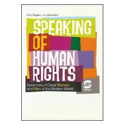 SPEAKING OF HUMAN RIGHT  Vol. U