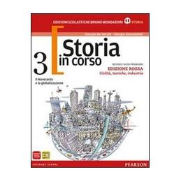 STORIA IN CORSO 3 ED.ROSSA TECNOLOGICI+ATLANTE VOL. 3