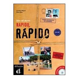 RAPIDO, RAPIDO ALUMNO + CD  VOL. U