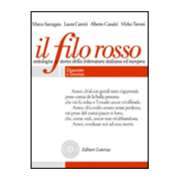FILO ROSSO 1 (IL)  (TOMI 1,1 1,2 1,3) ANALISI TESTUALE SCRITTURA