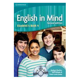 ENGLISH IN MIND LEVEL 4   STUDENT`S BOOK + DVD ROM