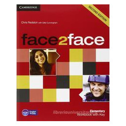 FACE2FACE ELEMENTARY   WORKBOOK WITH ANSWERS