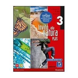 INVITO ALLA NATURA PLUS ANNUALE 3+ADES. ED.INTERATTIVA  VOL. 3
