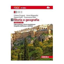 STORIA E GEOGRAFIA 1 LIBRO DIGITALE (EBOOK + LIBRO) DALLA PREISTORIA A ROMA REPUBBLICANA. GEOGRAFIA