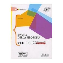 STORIA DELLA FILOSOFIA `800/`900  Vol. U
