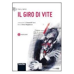 IL GIRO DI VITE DI HENRY JAMES VOLUME + CD MP3
