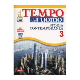 TEMPO DELL`UOMO VOL. 3 + LABORATORIO STORIA CONTEMPORANEA