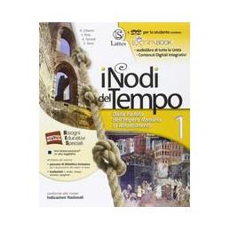 NODI DEL TEMPO (I) VOL. 1 CON DVD E CARTE+PREP.INT.+ANT.CIV.+CITT.+QUAD.COMP. DALLA CADUTA DELL`IMPE
