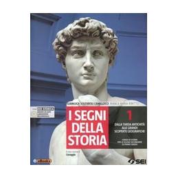 SEGNI DELLA STORIA (I) 1 + DVD + ATLANTE STORICO DALLA TARDA ANTICHITA` ALLE GRANDI SCOPERTE GEOGRAF