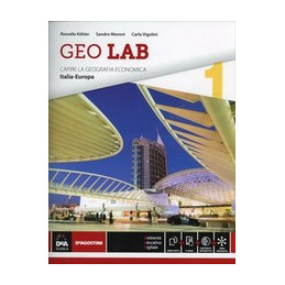 GEO LAB   VOLUME 1 + EBOOK VOLUME PRIMO ITALIA EUROPA Vol. 1