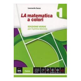 MATEMATICA A COLORI (LA) EDIZIONE VERDE VOLUME 1 + EBOOK  Vol. 1
