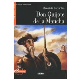 DON QUIJOTE DE LA MANCIA LIBRO + CD VOL. U