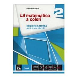 MATEMATICA A COLORI (LA) EDIZIONE AZZURRA VOLUME 2 + EBOOK  Vol. 2