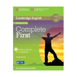COMPLETE FIRST   2ND EDITION STUDENT`S BOOK W/A + CD ROM