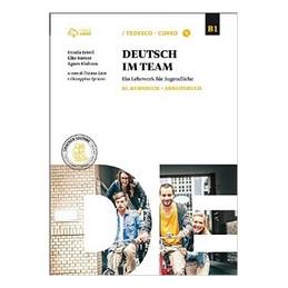DEUTSCH IM TEAM B1 KURSBUCH + ARBEITSBUCH + CD MP3