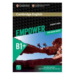 EMPOWER EMPOWER B1+ INTERMEDIATE