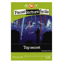 TOP SECRET NIVEAU 2 (A1): LIVRE+CD AUDIO