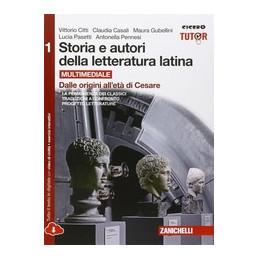 STORIA E AUTORI DELLA LETTERATURA LATINA CNF1 ED. ROSSA LDM