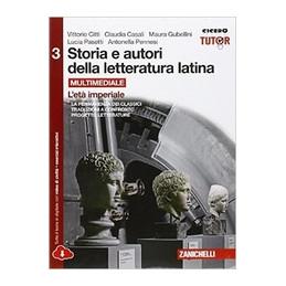 STORIA E AUTORI DELLA LETTERATURA LATINA VOL. 3 ED. ROSSA