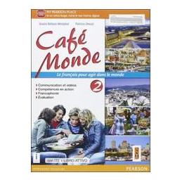 CAFE` MONDE 2 ED AB  VOL+AB+ITE+DIDA