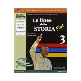 LINEE STORIA PLUS 3 VOL+AB+ITE+DIDA