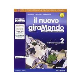 NUOVO GIRAMONDO 2 ED BLU  ATL+AB+ITE+DID