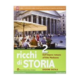 RICCHI STORIA 2 ED. DIGITALE VOL+ITE+DIDA
