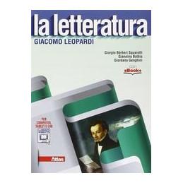 LETTERATURA (LA) LEOPARDI VOL. U