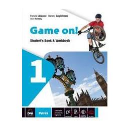 GAME ON! VOLUME 1 STUDENT`S BOOK & WORKBOOK + GRAMMAR + EBOOK 1  VOL. 1