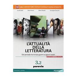 ATTUALITA DELLA  LETTERATURA  ED. BIANCA VOL. 3  TOMO 2  VOL. U