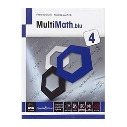 MULTIMATH BLU VOLUME 4 + EBOOK SECONDO BIENNIO E QUINTO ANNO Vol. 2