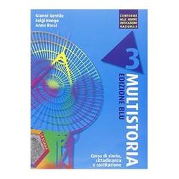 MULTISTORIA BLU EDIZIONI PLUS DVD VOL. 3