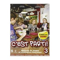 C`EST PARTI! 3 + LIBRO DIGITALE  Vol. 3