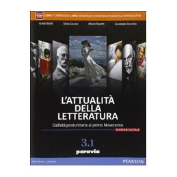 ATTUALITA` DELLA LETTERATURA 3/1 - EDIZIONE DIGITALE  Vol. 3