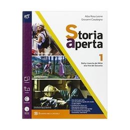STORIA APERTA CLASSE 1 - LIBRO MISTO CON OPENBOOK VOLUME 1 + EXTRAKIT + OPENBOOK VOL. 1