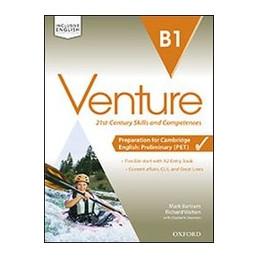 VENTURE B1 EB+SB&WB+CD+OBK+STUDYAPP VOL. U