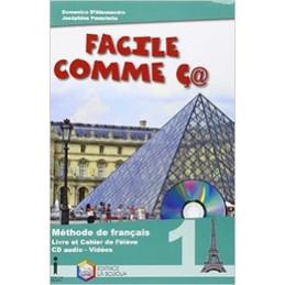 FACILE COMME C@ - METHODE DE FRANCAIS + CD AUDIO Vol. 1