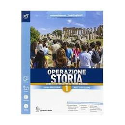OPERAZIONE STORIA CLASSE 1 - LIBRO MISTO CON OPENBOOK VOLUME 1 + EXTRAKIT + OPENBOOK VOL. 1