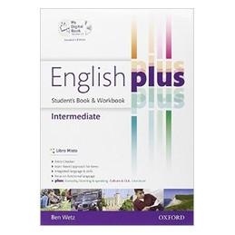 ENGLISH PLUS STUDENT`S BOOK + WORKBOOK  Vol. U